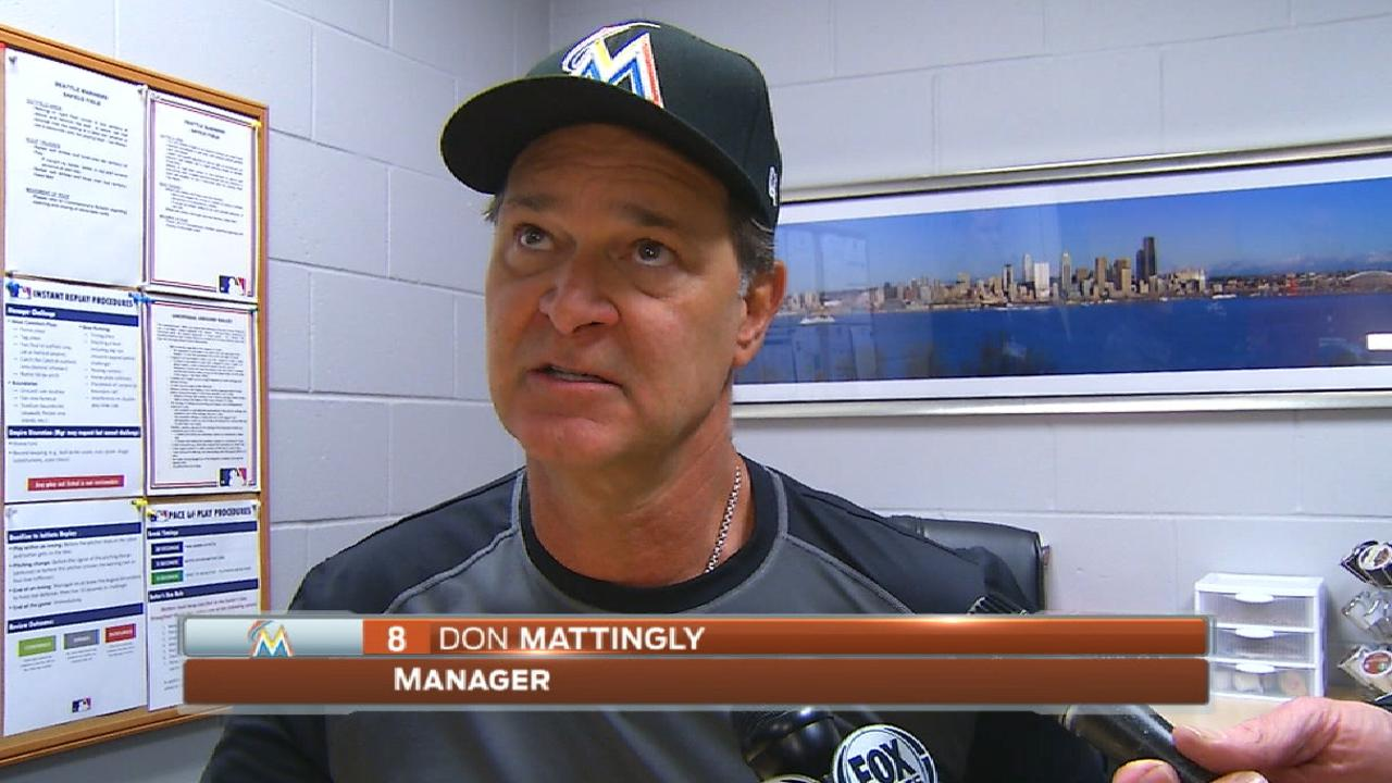 Mattingly defends decision to pull Chen after 7