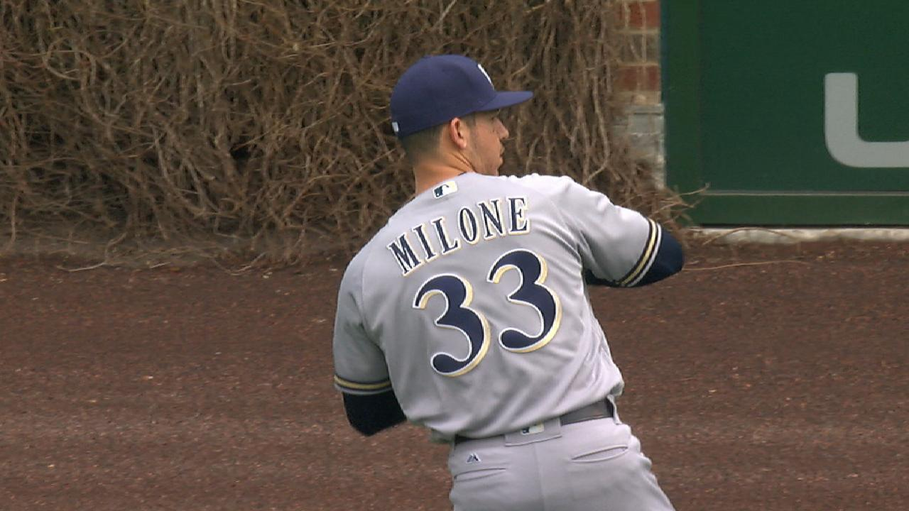 Looking for depth, Mets claim lefty Milone