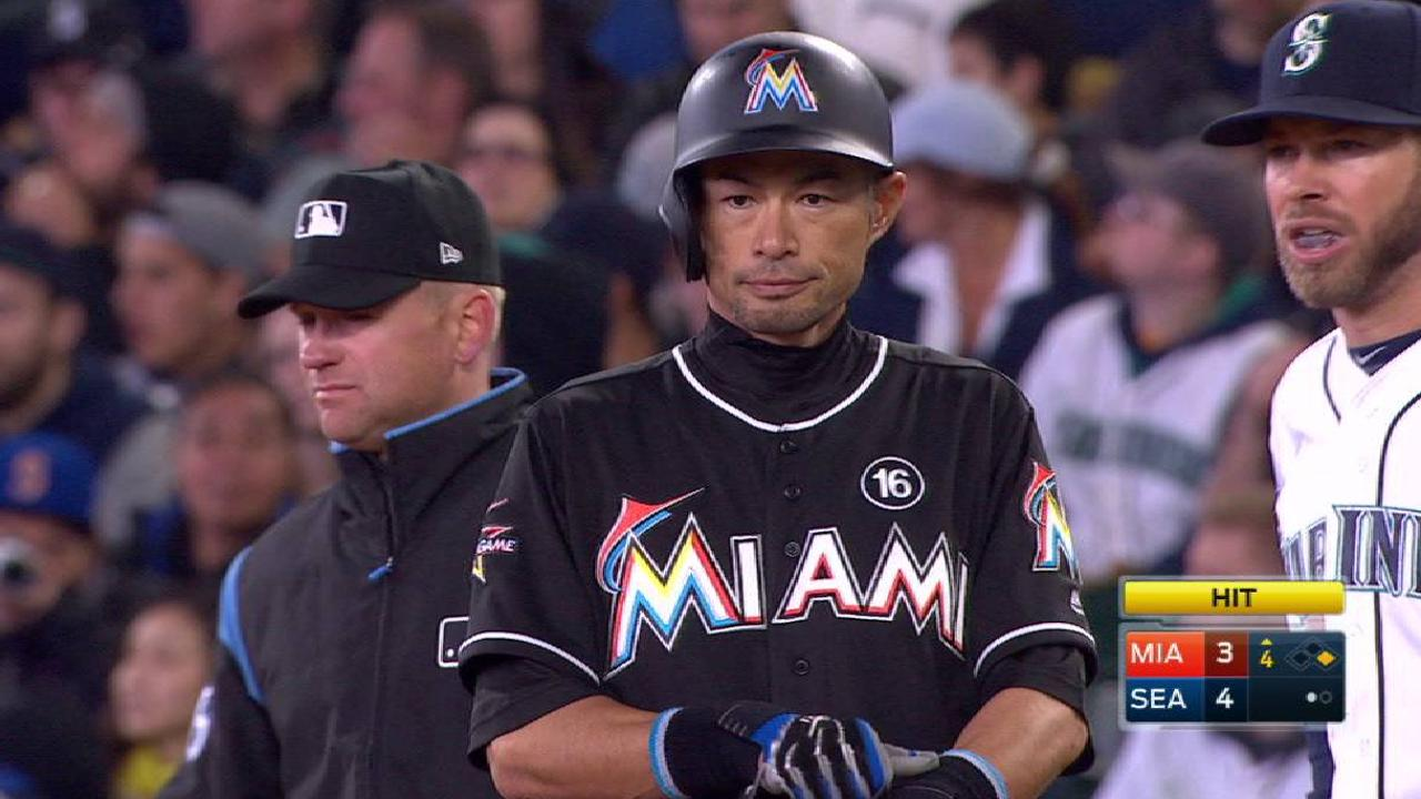 Ichiro's knock in the 4th