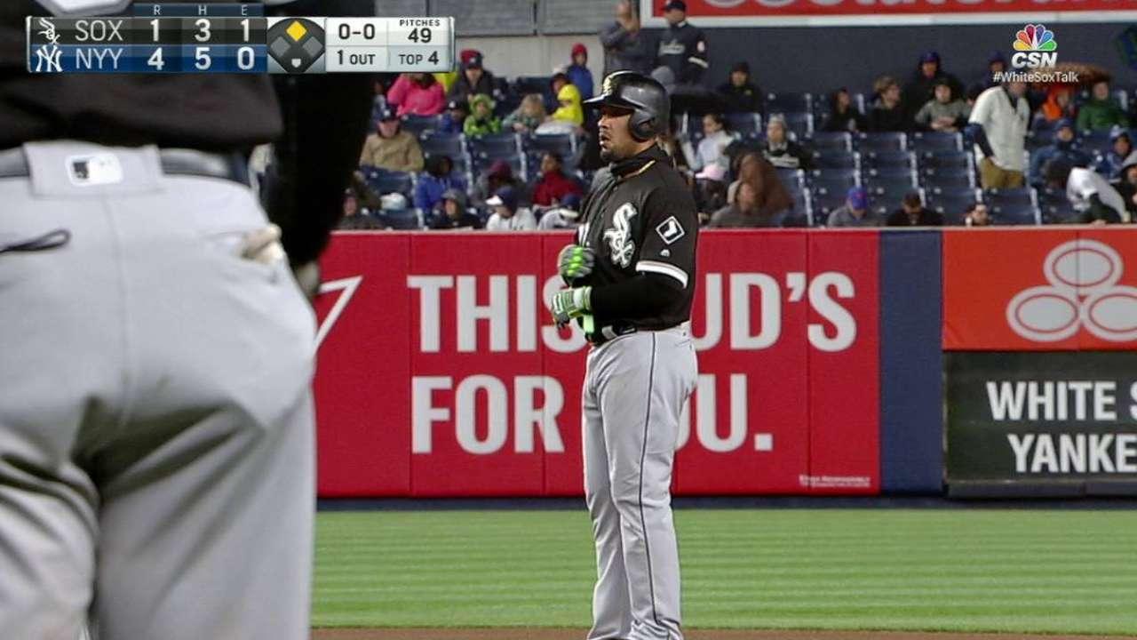 Abreu se suelta ante los Yankees