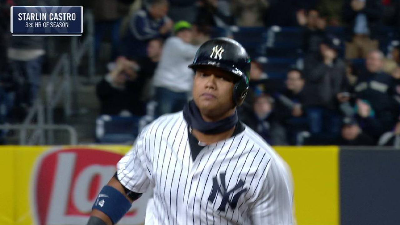 Castro's three-run home run