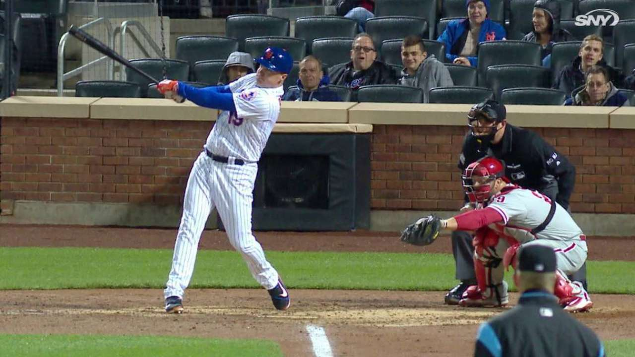 Bruce's three-run jack