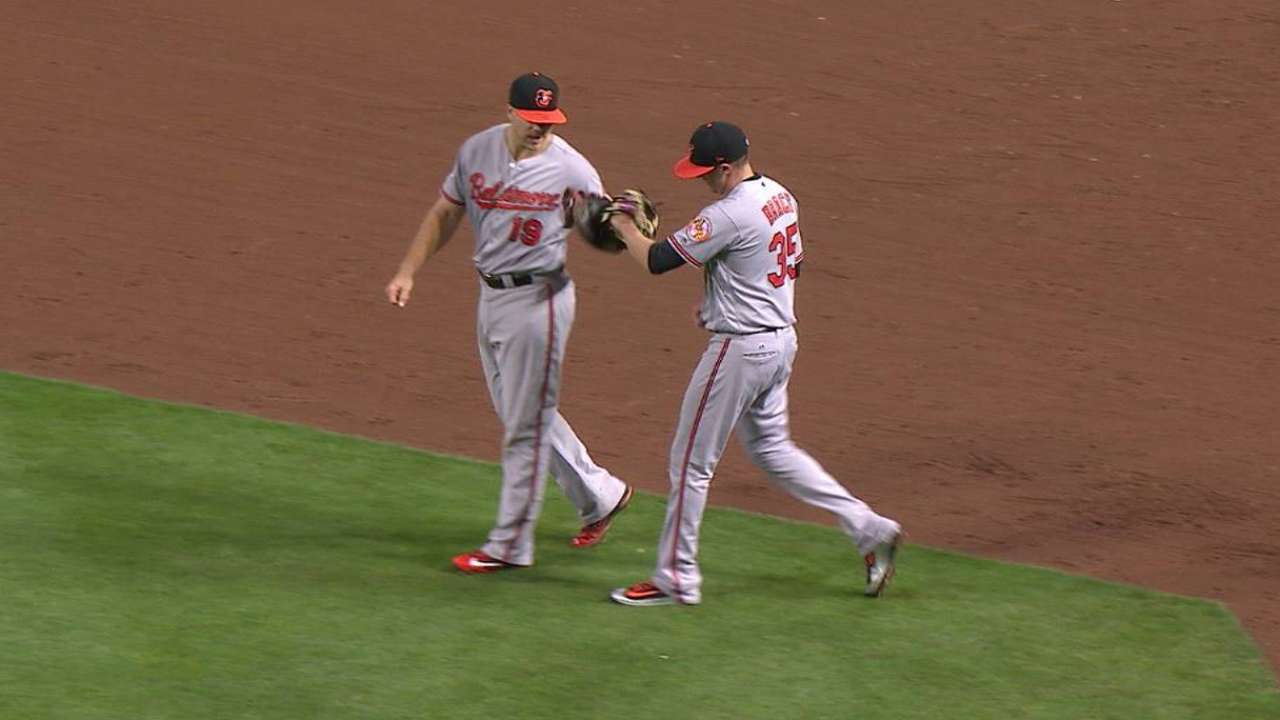 Brach notches his first save of season