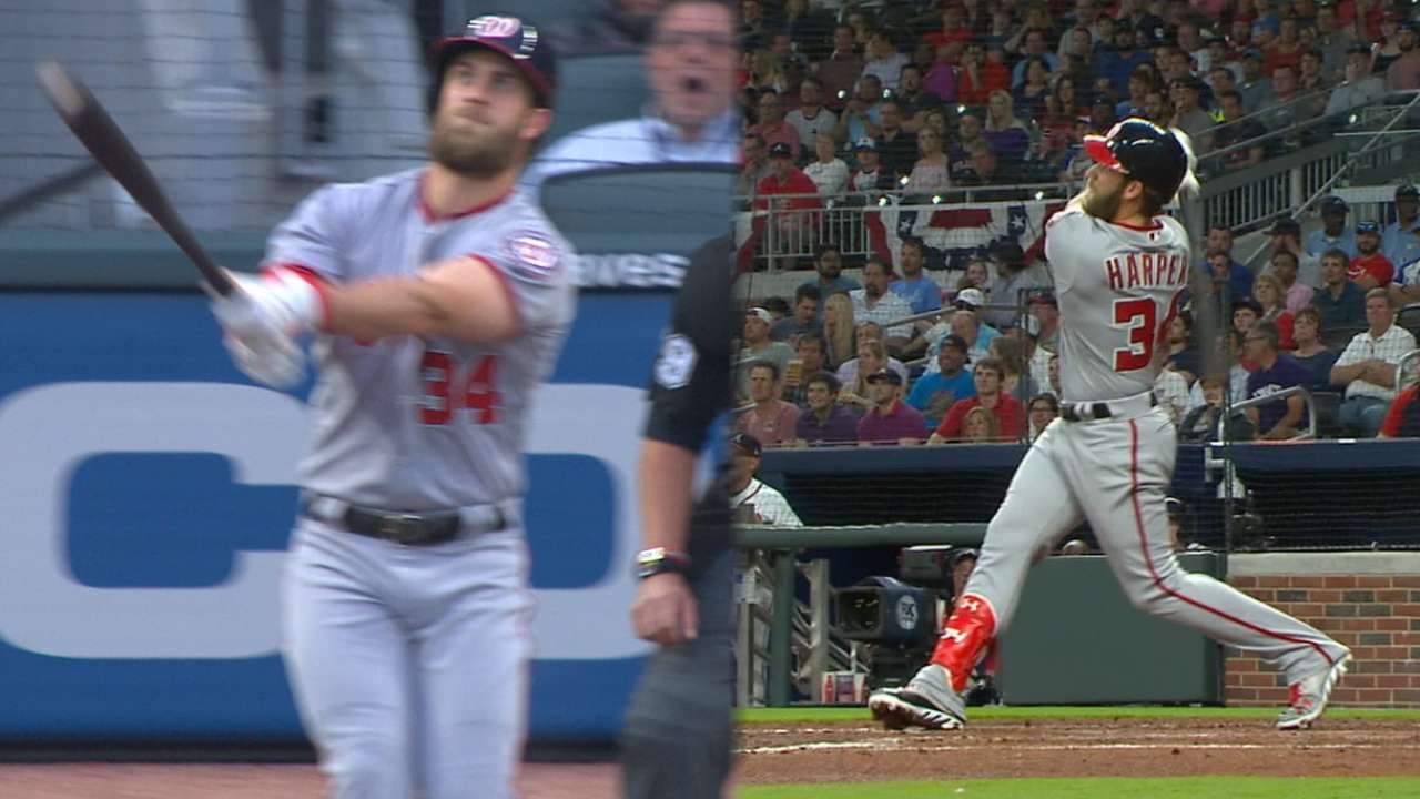 Must C: Harper's two-homer night