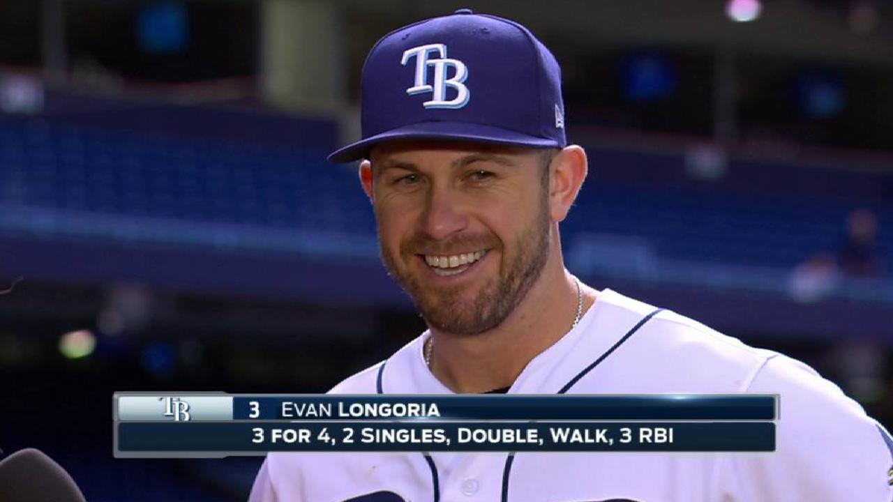 Longoria on the walk-off win