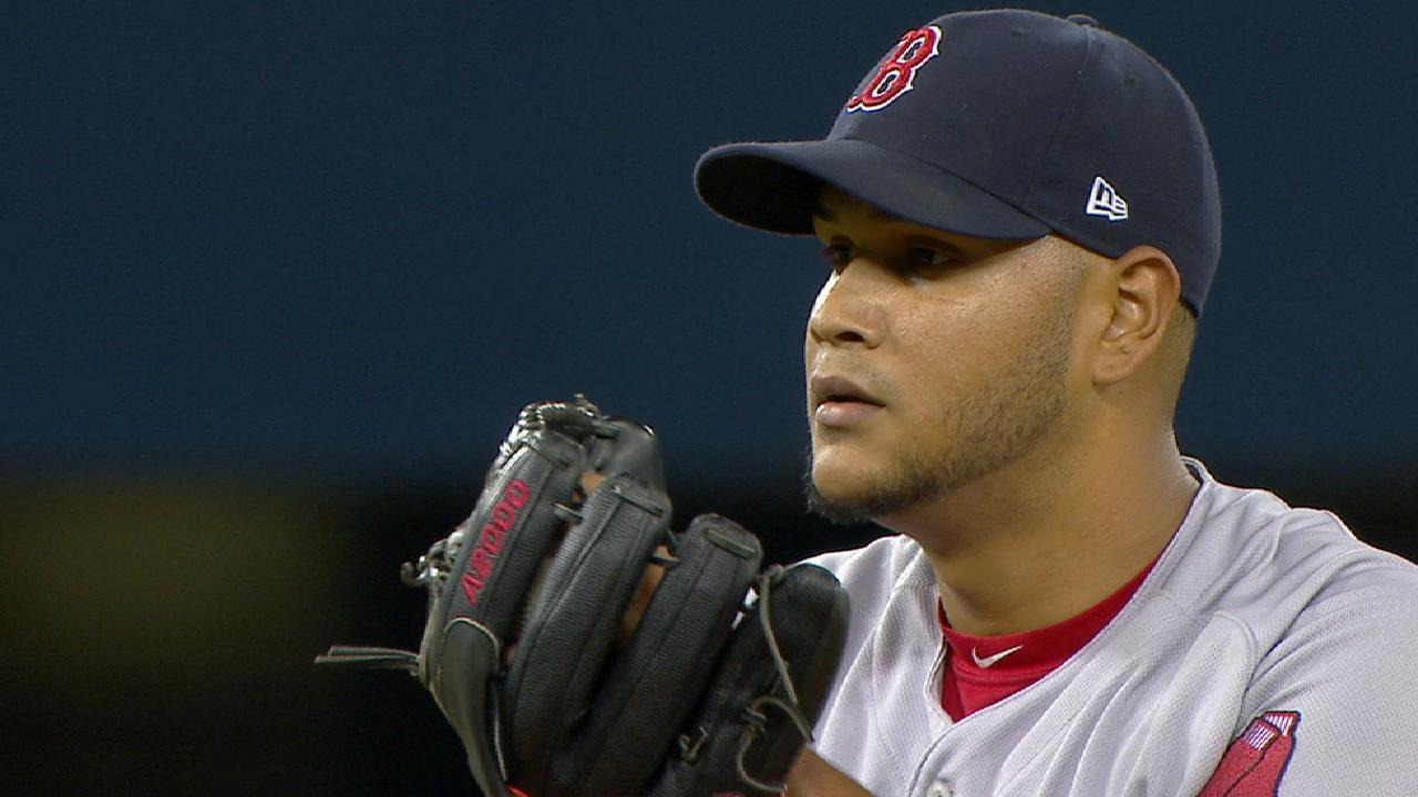 E-Rod's early return reinforces Sox bullpen