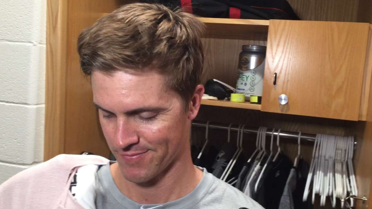 Greinke on complete-game loss