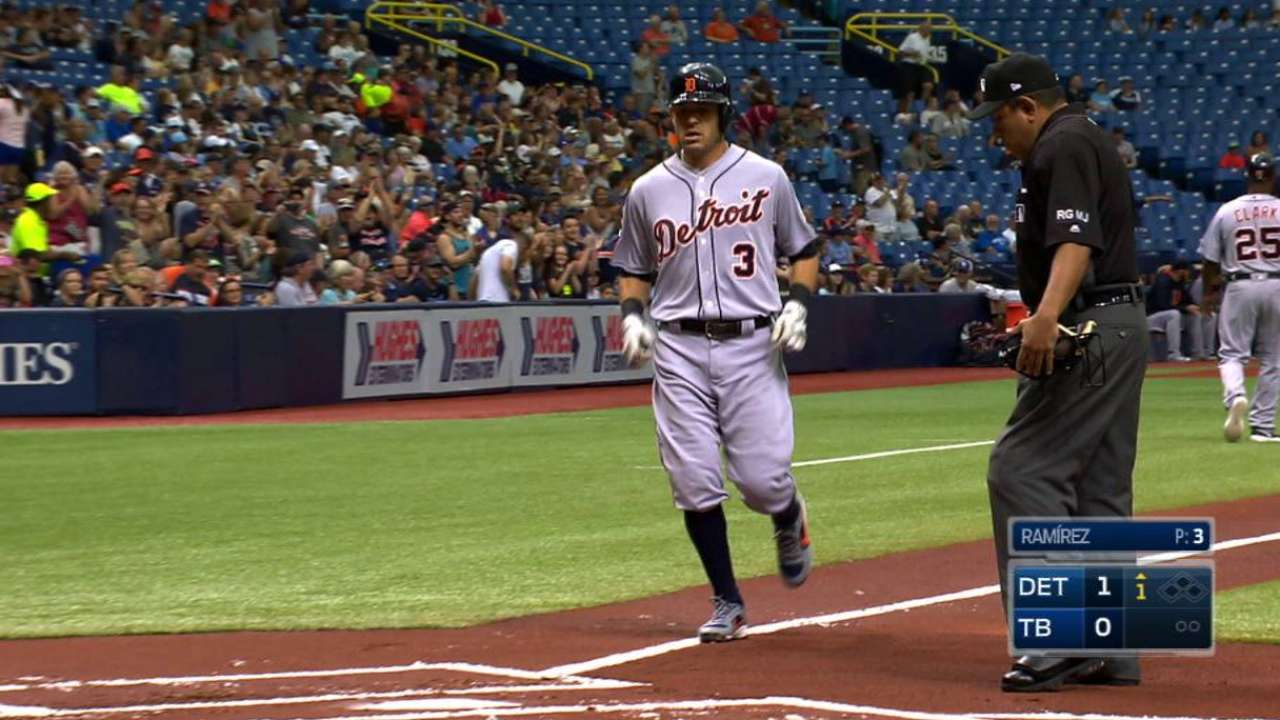 Tigers drop ball, series at Tropicana