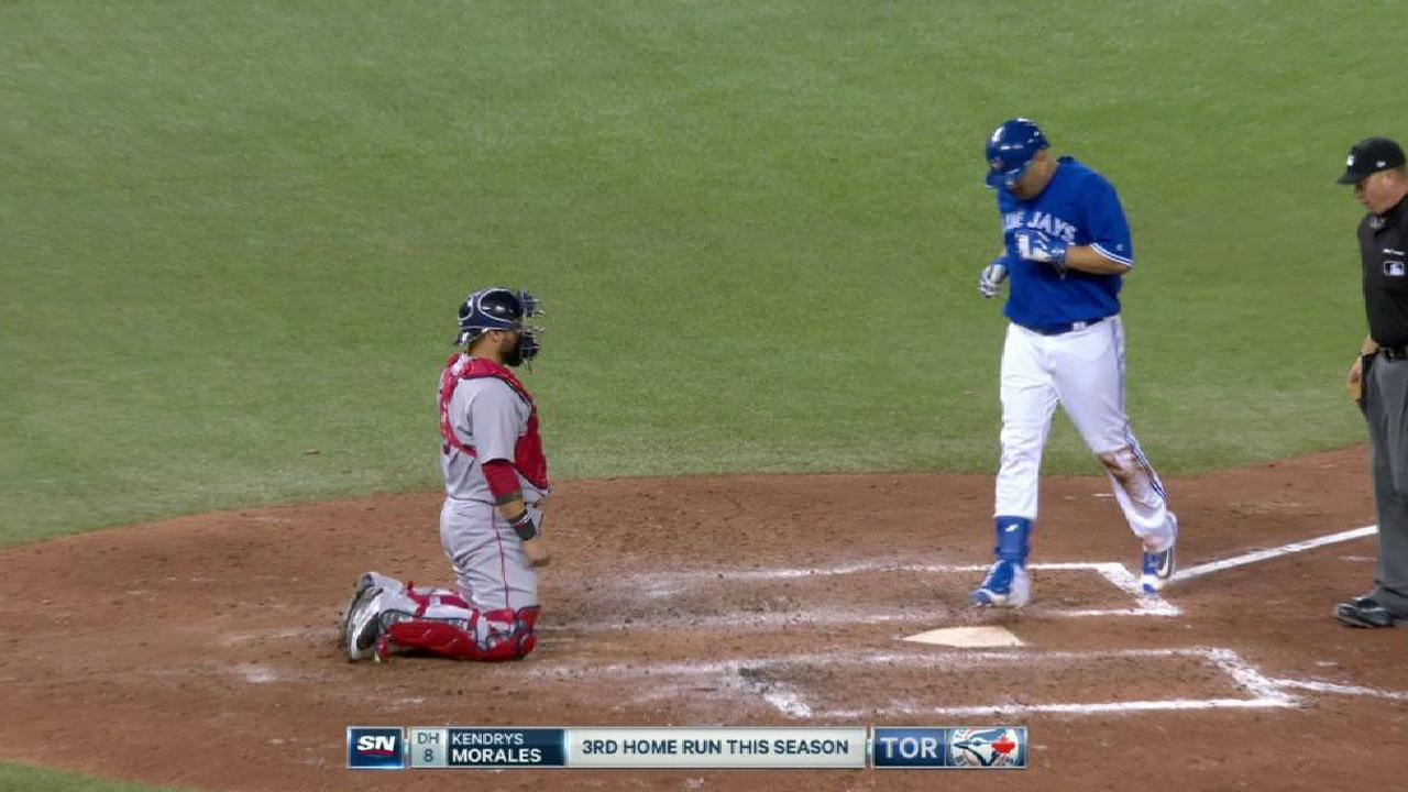 Morales' game-tying solo homer