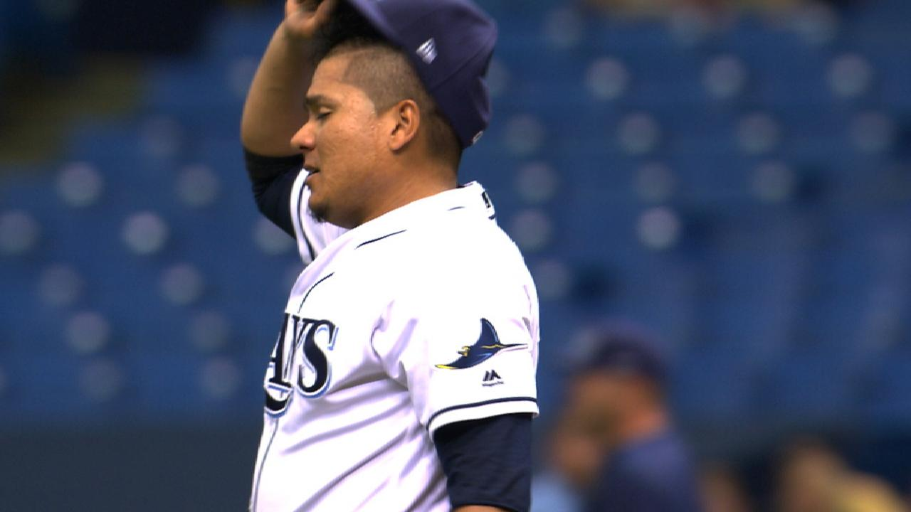 Ramirez pitches Rays to sweep of Tigers