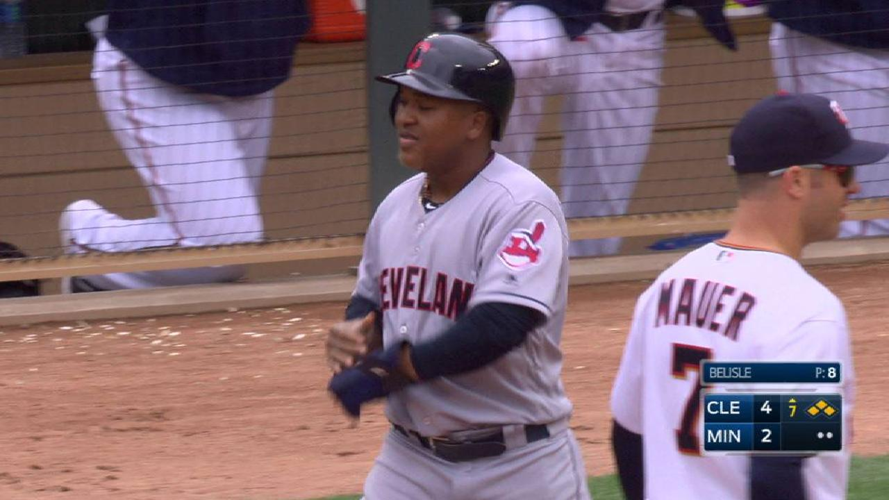 Ramirez's bases-loaded walk