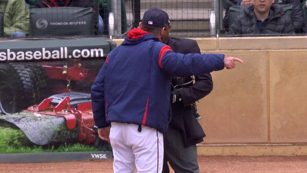 Molitor gets tossed from game