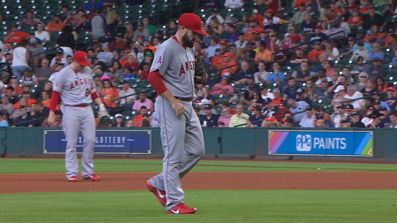 Shoemaker strong, but Halos fall to Astros