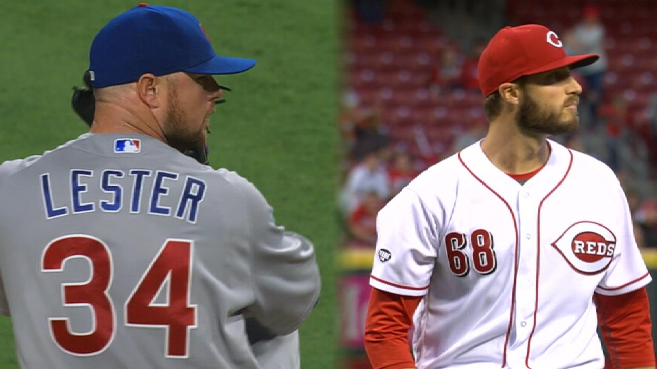 Lester leads Cubs into Cincy Friday