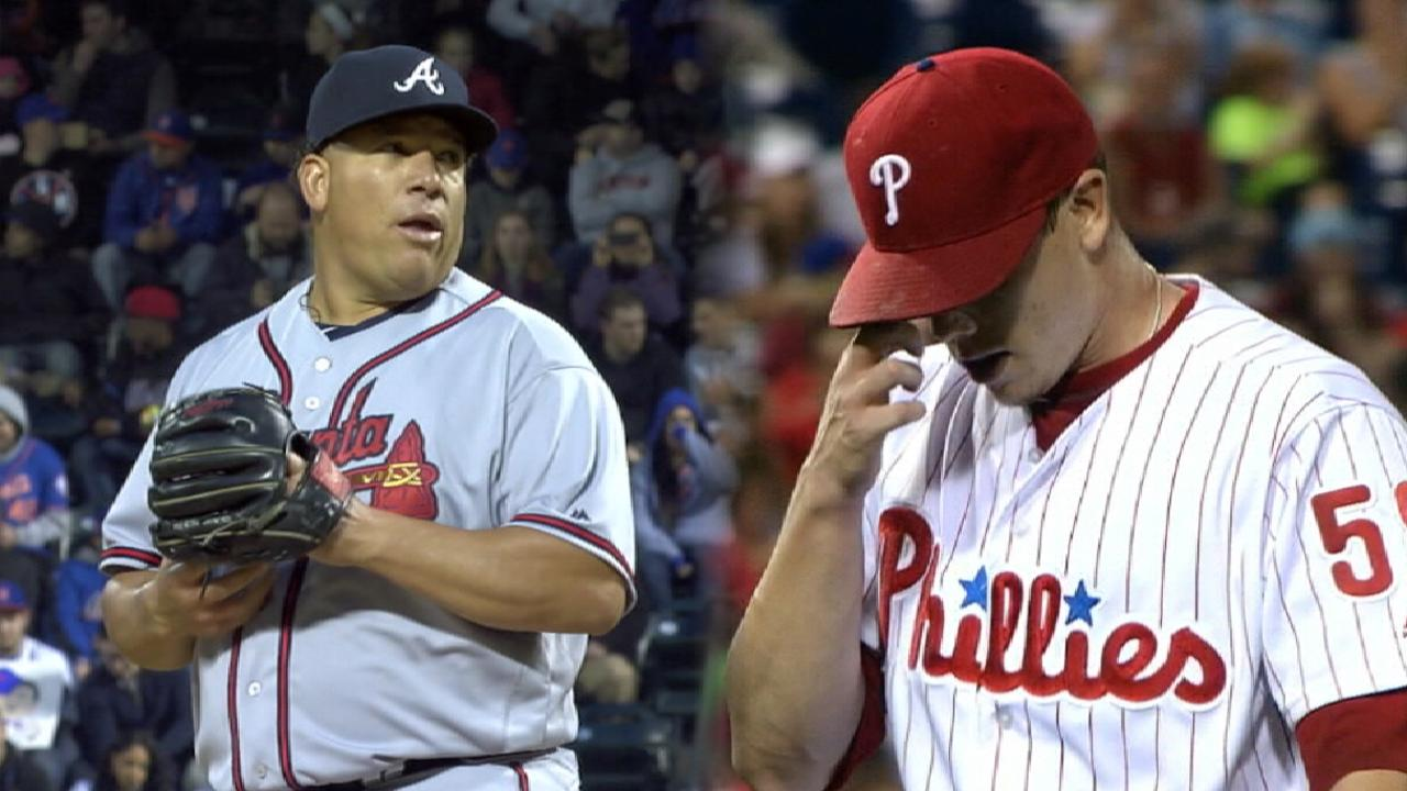 Hellickson, Colon match up for opener in Philly