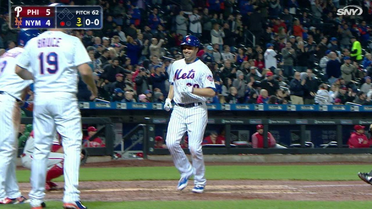 Walker's three-run home run