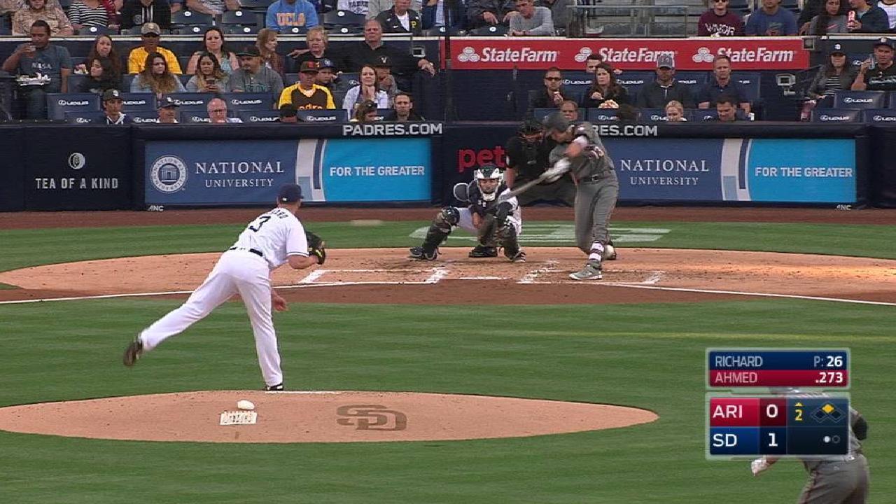 Ahmed's RBI single