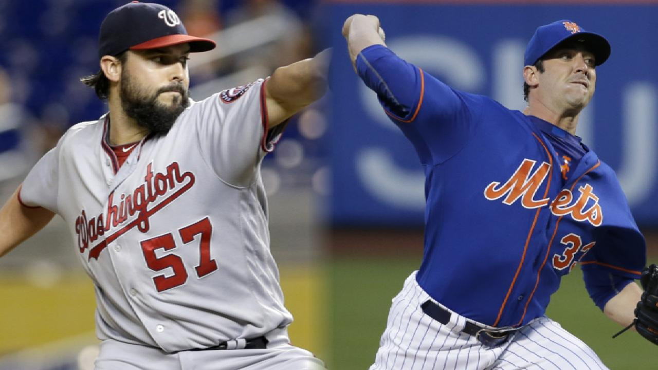 Roark, Harvey set to open key NL East set