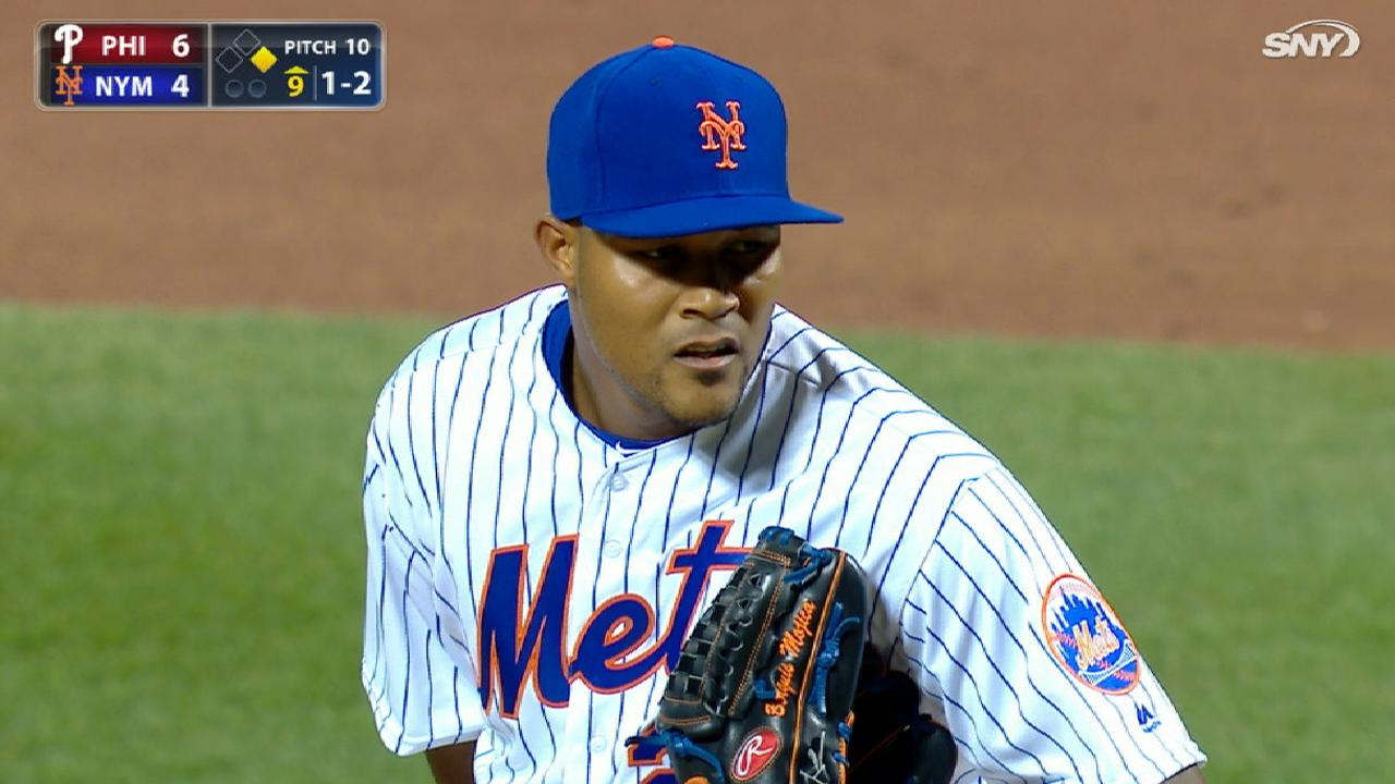 Familia activated, throws scoreless inning