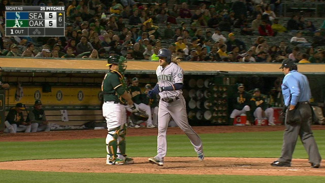 Paxton struggles as Seattle falls short vs. A's
