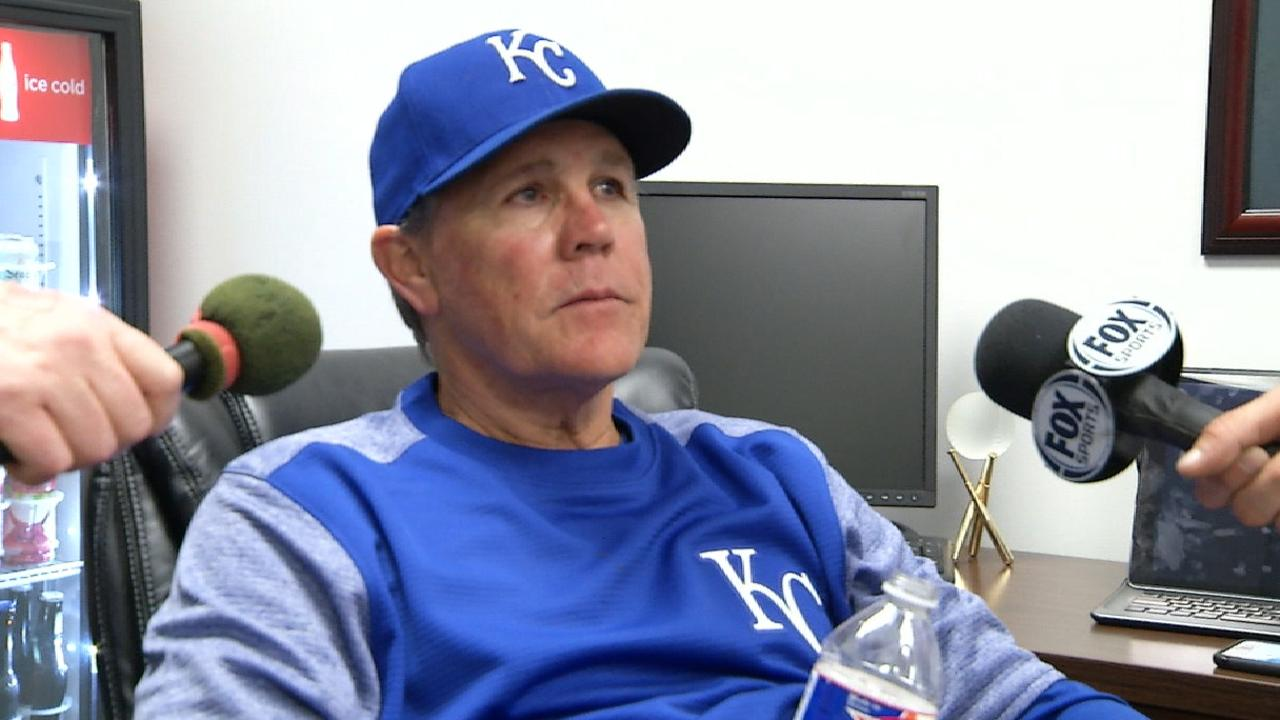 Yost on Royals loss to Rangers