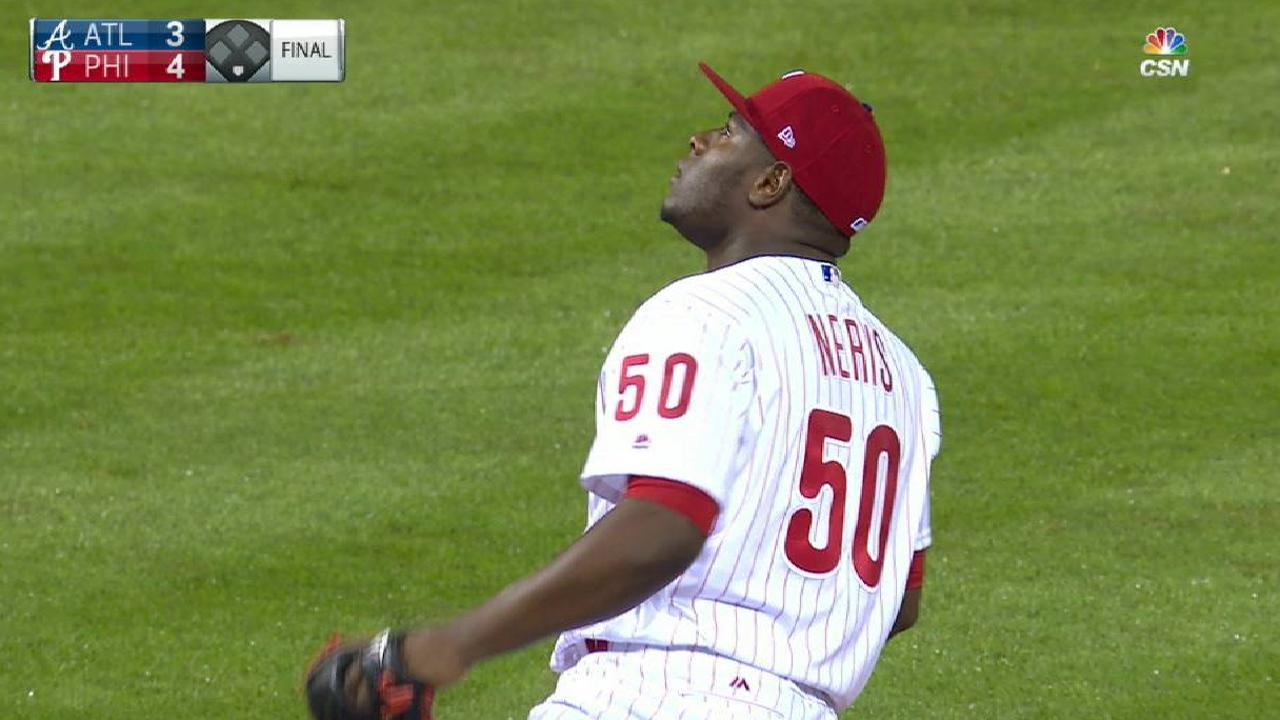 Neris notches the save