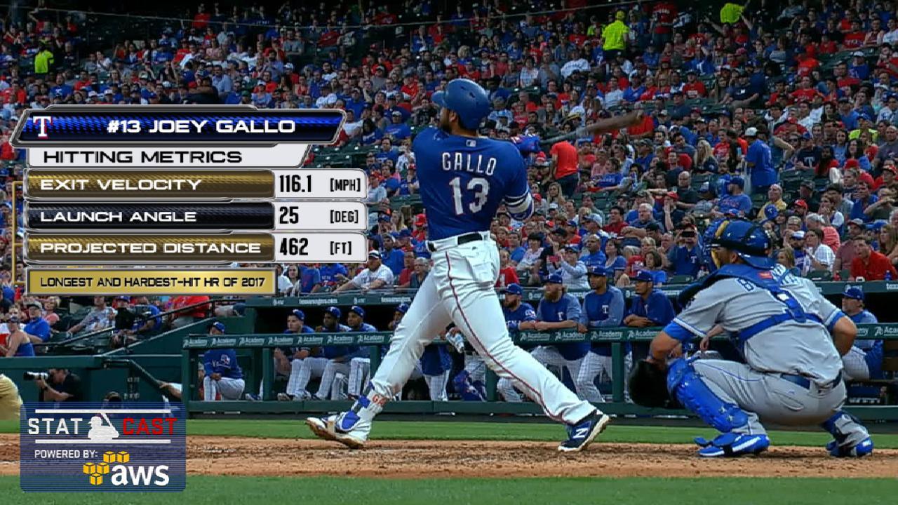 Statcast: Gallo's 462-foot homer