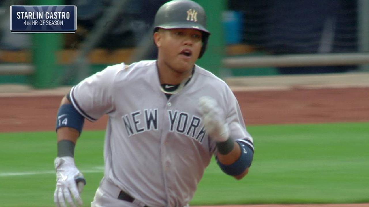 Castro sacudió jonrón de tres carreras en victoria de Yankees sobre Piratas