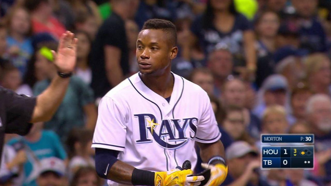 Beckham, Tampa Bay pusieron fin a buena racha de los Astros