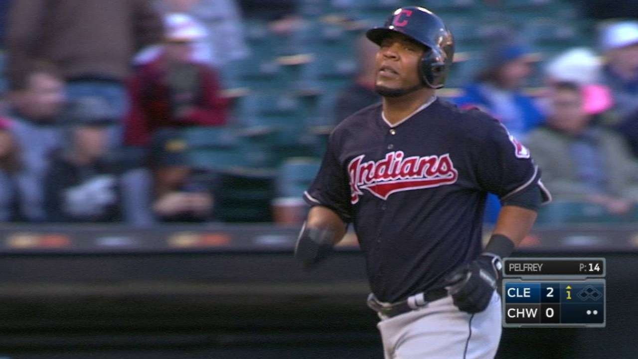Encarnacion's two-run home run