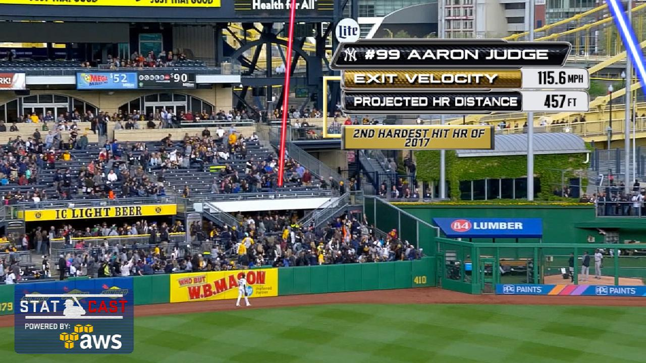 Statcast: Judge's 457-foot homer