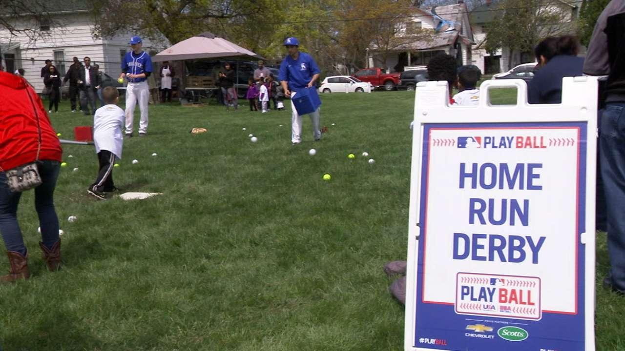 Play Ball brings fun, joy of game to Flint kids