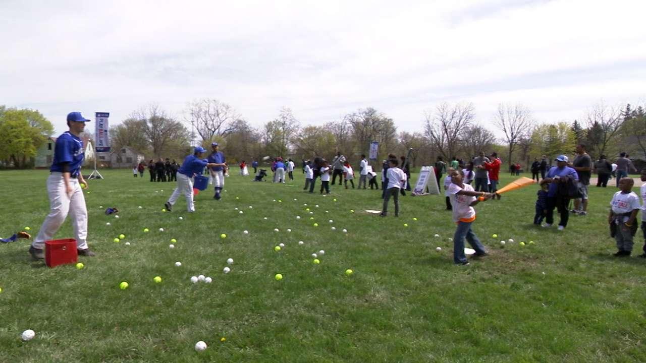 Play Ball stops in Flint, MI