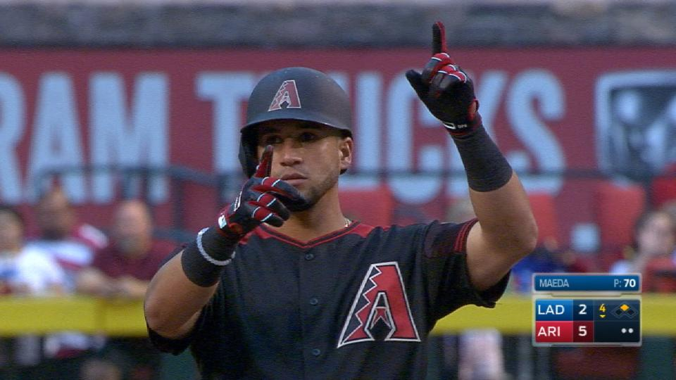 David Peralta Sets Club Record With 4 Doubles Arizona