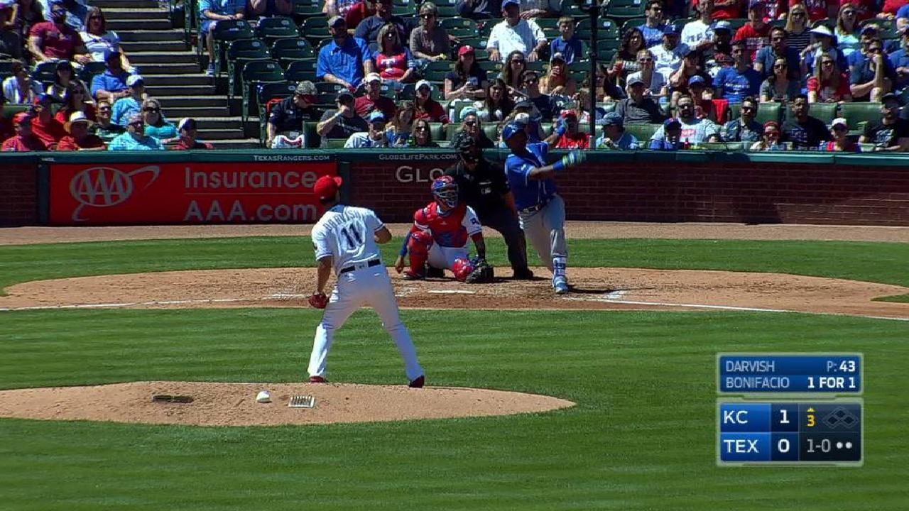 Bonifacio's solo home run