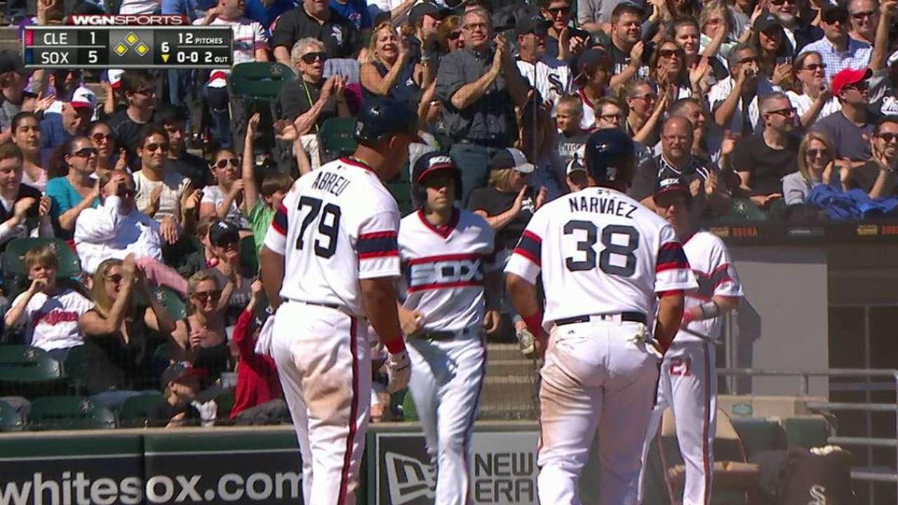 Los White Sox cortaron racha de triunfos de Indios guiados por Melky y Holland