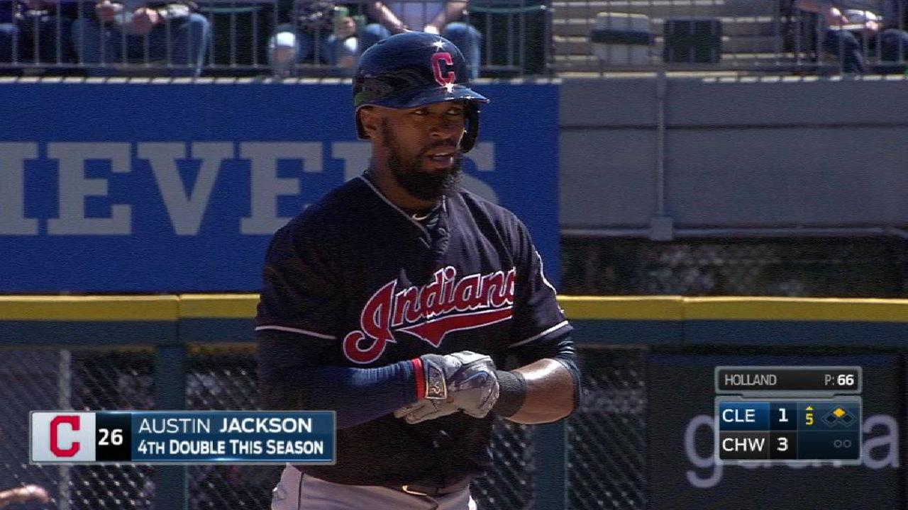 With Chisenhall out, Tribe activates Jackson