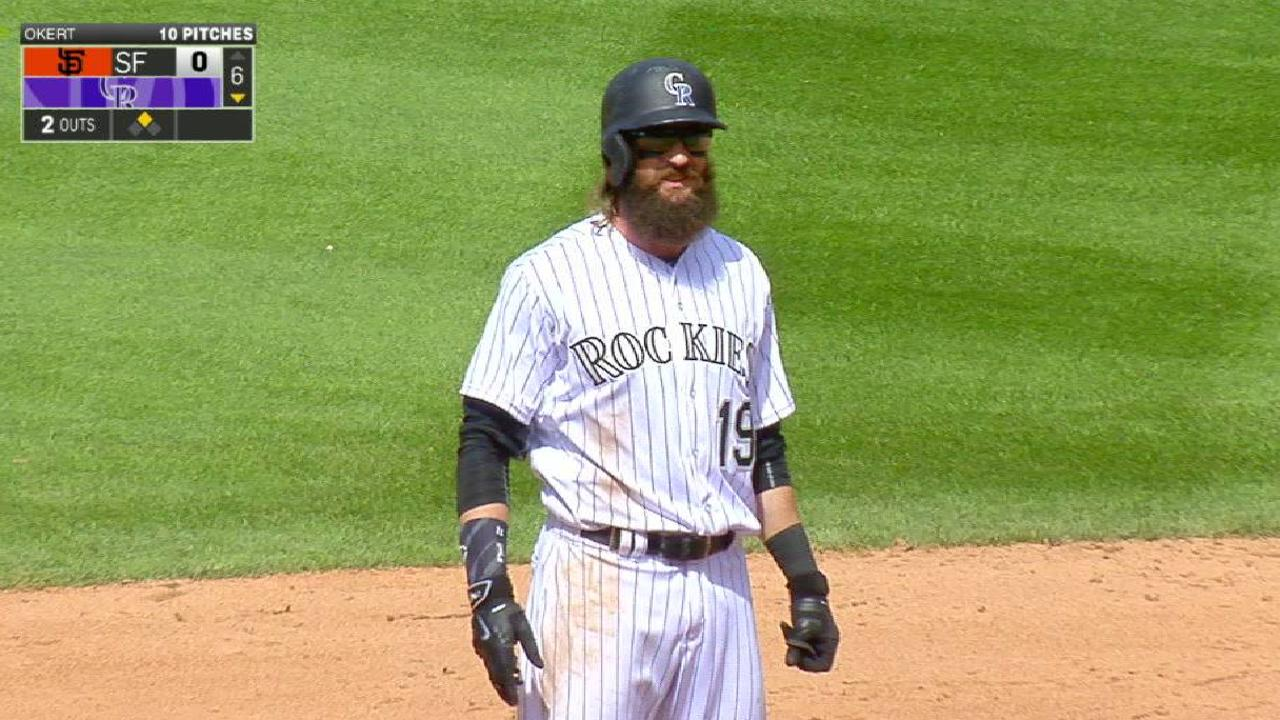 Rox roll to first home sweep of Giants since '02