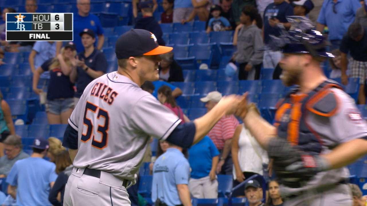 Astros have most dangerous 'pen again