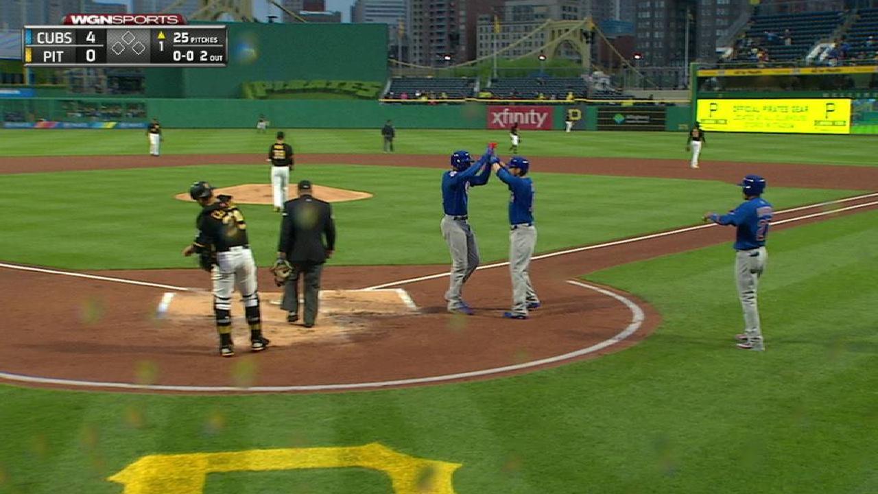 Blue Monday: Cubs put on show vs. Pirates