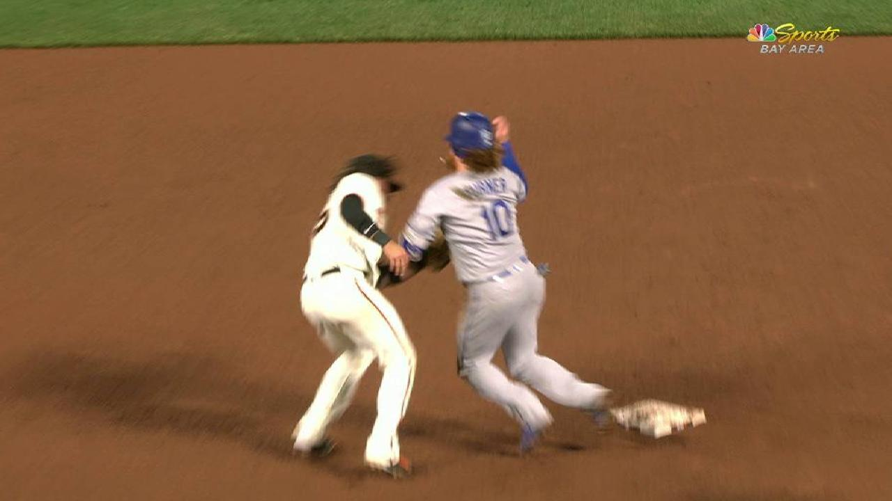 Posey gets Turner to end game