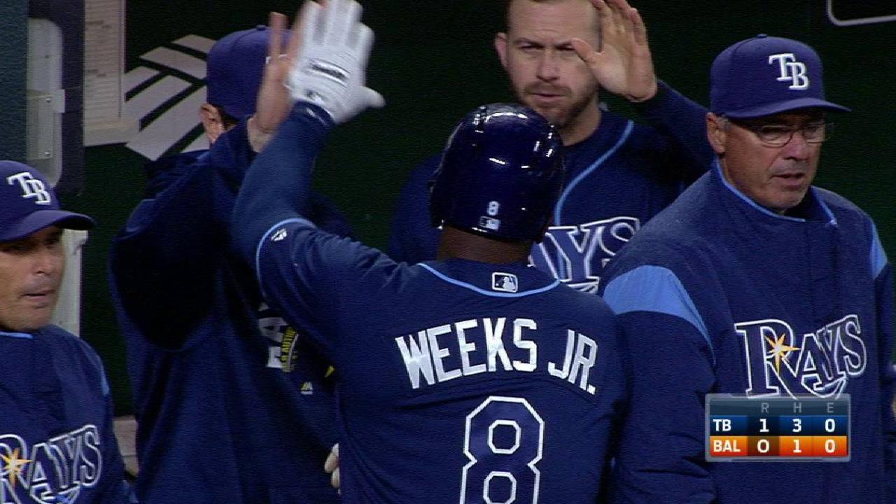 En reemplazo de Erasmo, bullpen de Rays lanza joya contra Orioles