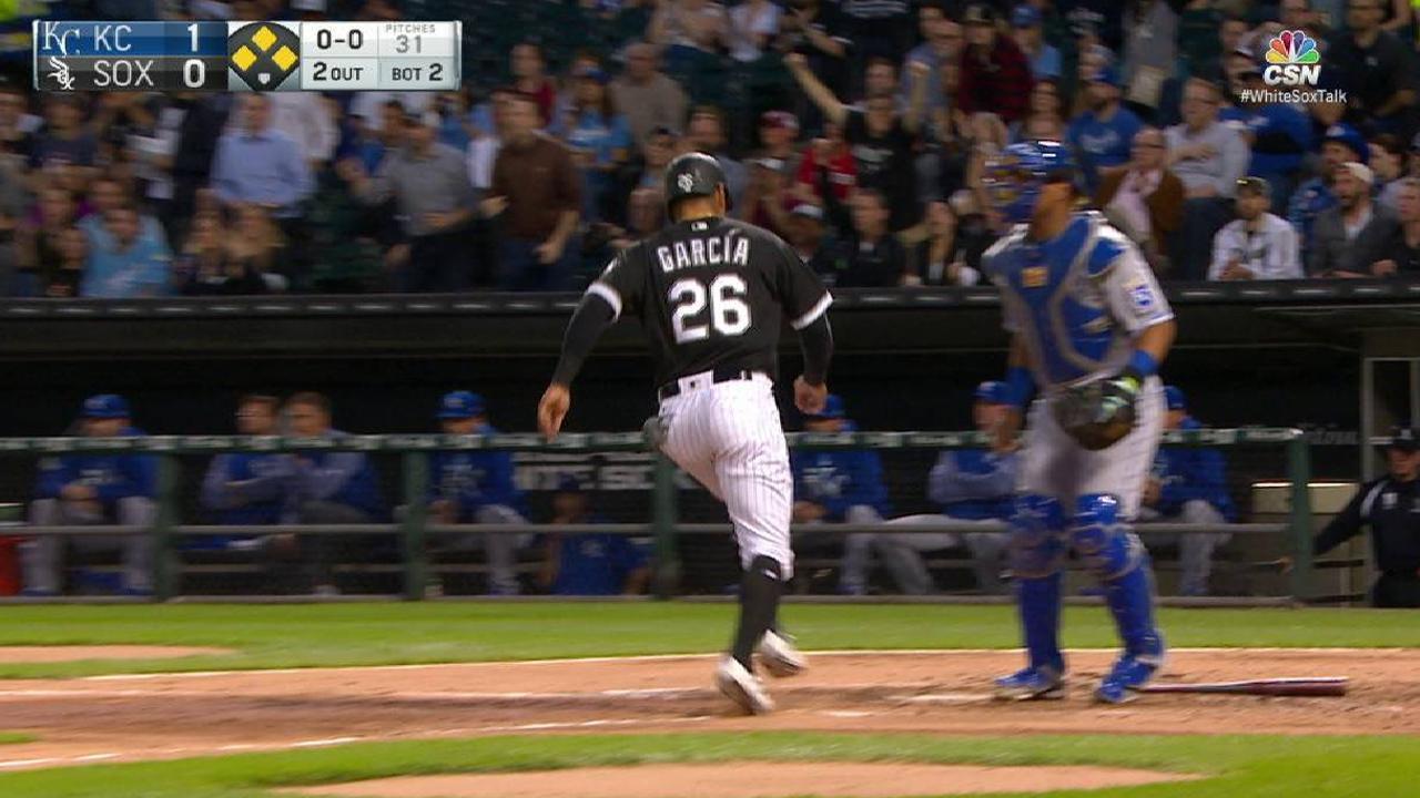 Leury García luce al bate y White Sox vencen a Reales