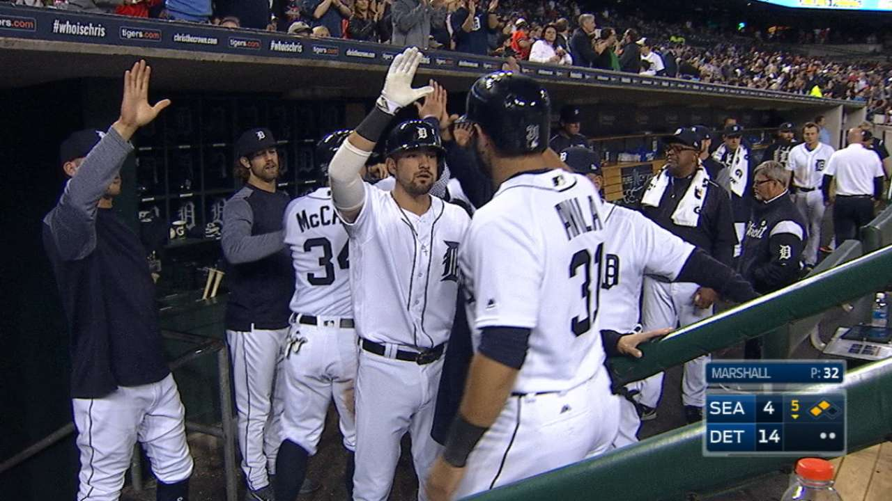 Roaring Tigers offense scores 19 to rout M's