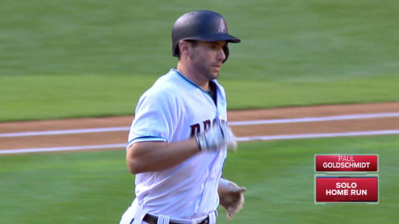 Goldy's four-hit game
