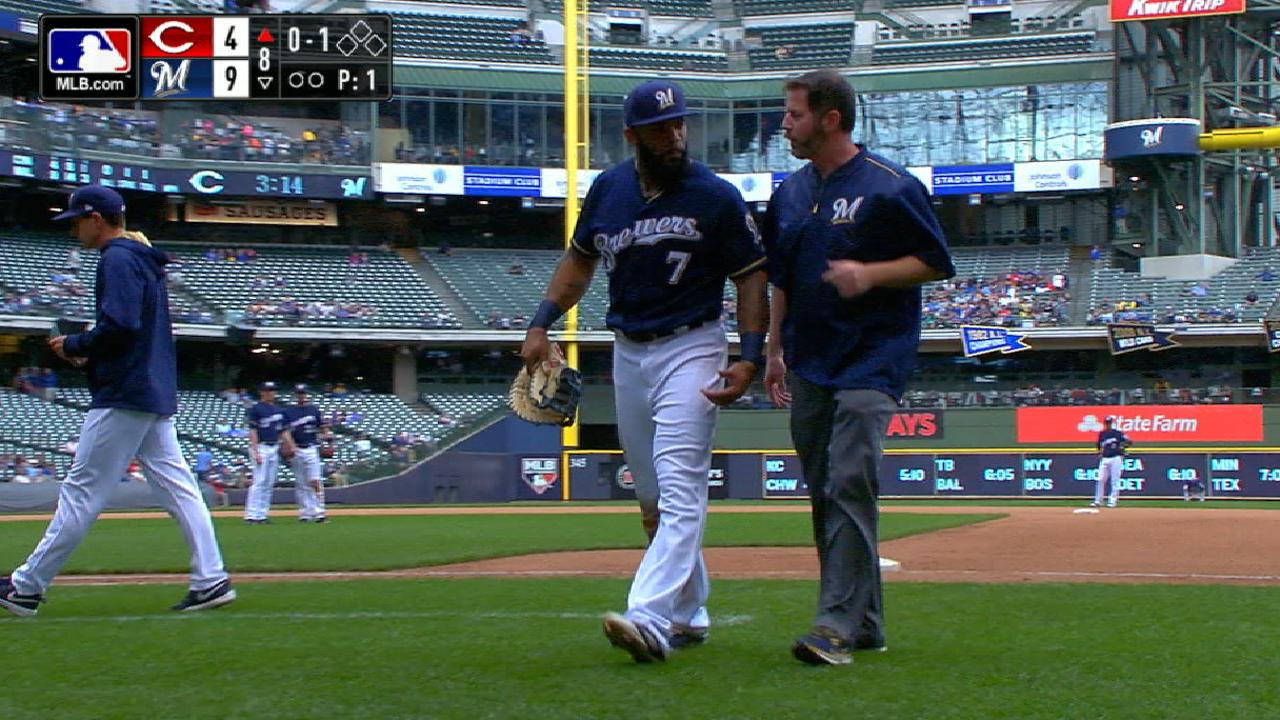 Thames exits with tight left hamstring