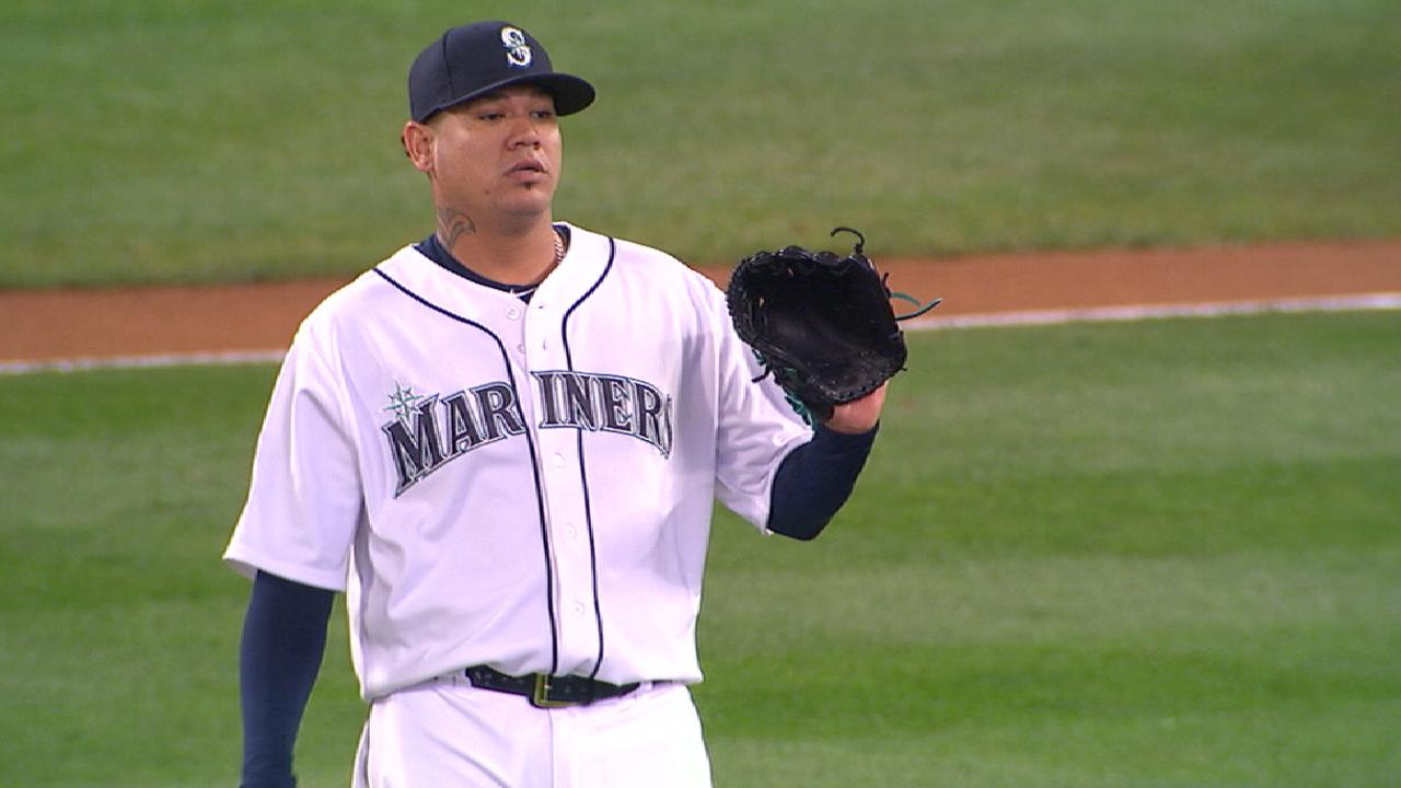 King Felix placed on 10-day DL