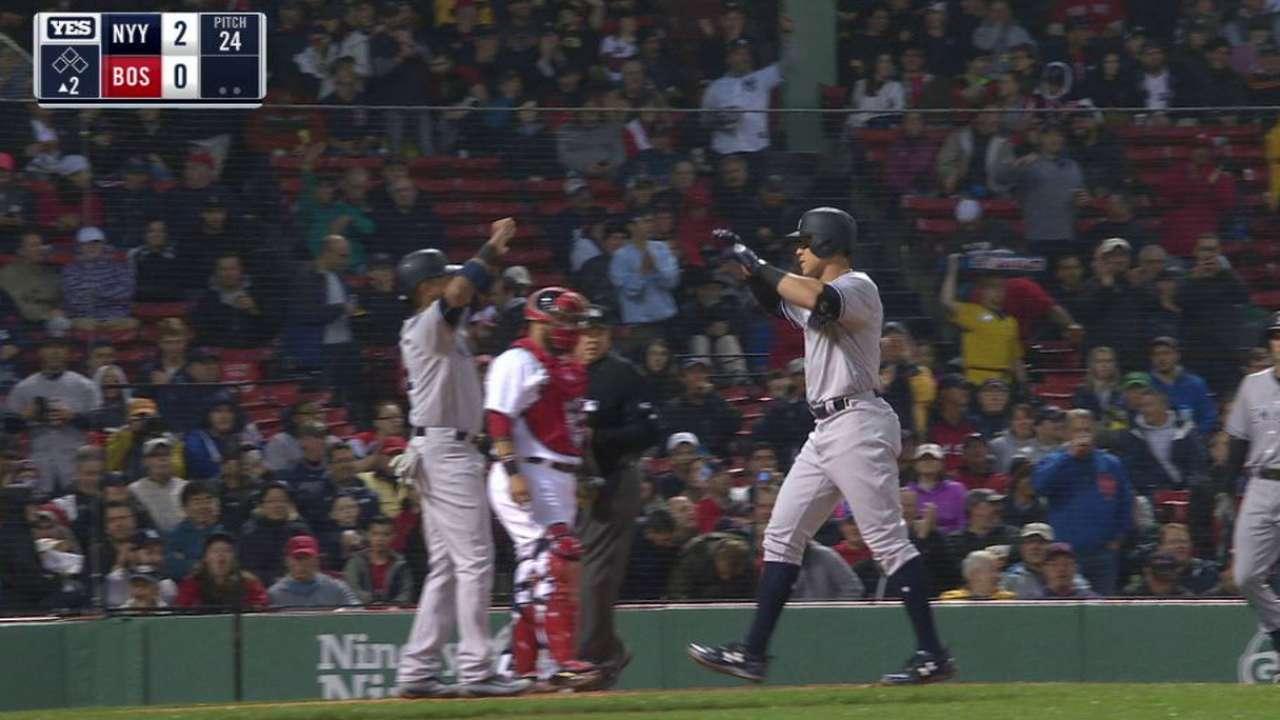 Severino, Judge lead Yanks to win over Sox
