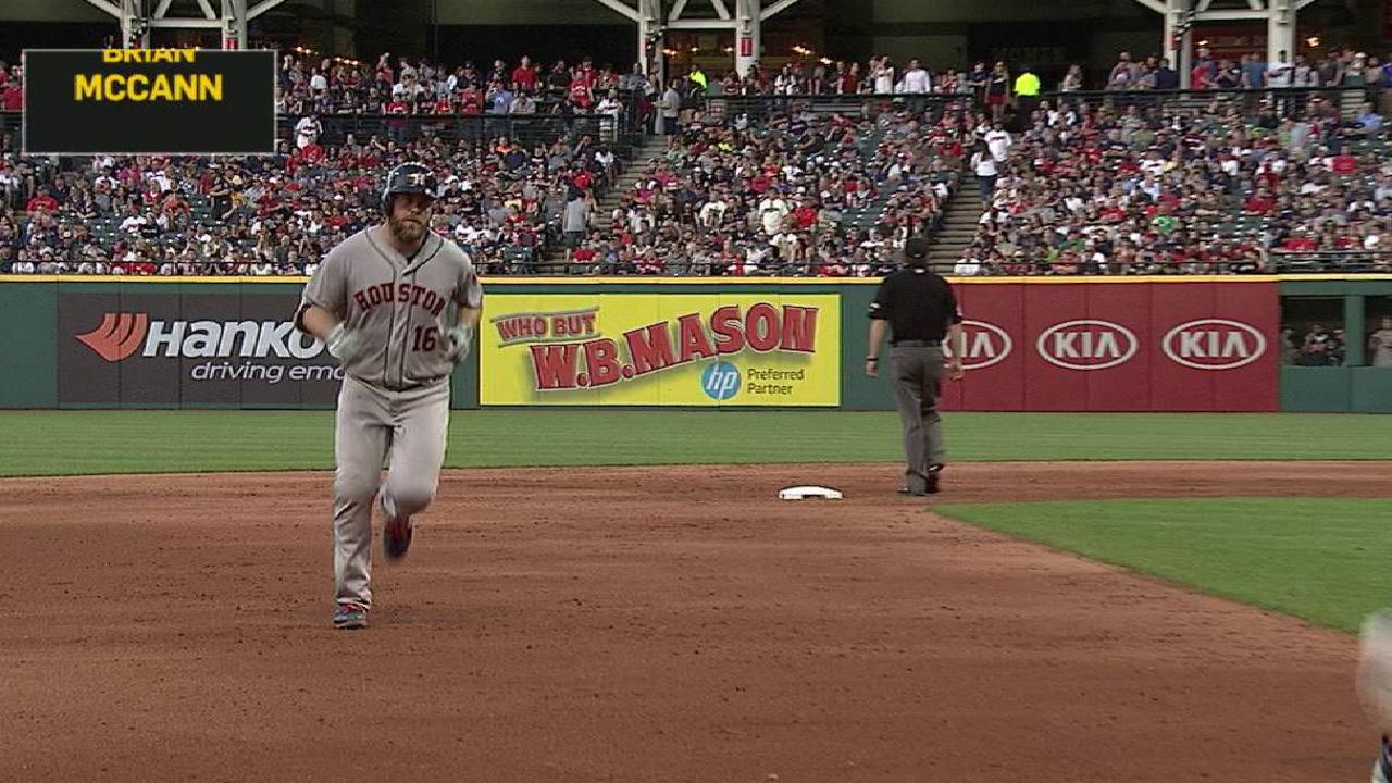 McCann's two-run homer