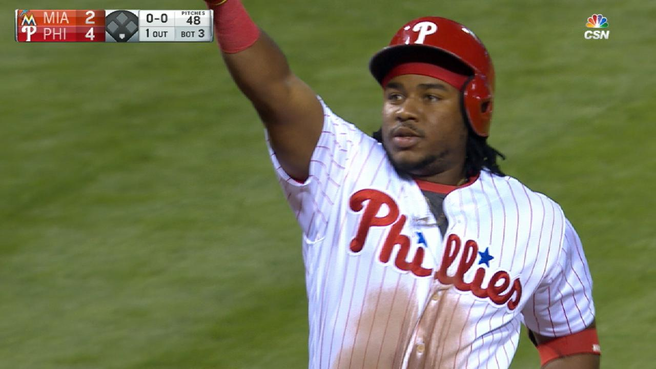 Franco heating up with grand slam